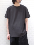 "【20SS】 soe (ソーイ)  ""ROUND HEM TALL T"" <Tシャツ/カットソー> - GRAY"