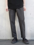 "【20SS】 soe (ソーイ)  ""Daily Slacks"" <スラックス> - GRAY"