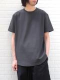 "【21SS】 soe (ソーイ)  ""ROUND HEM TALL T"" <Tシャツ/カットソー> - GRAY"