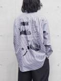 "【21SS】 soe (ソーイ)  ""KNOW ENOUGH"" Regular Collar Shirt <シャツ>"
