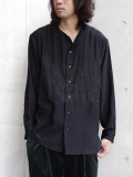 【17AW】 TAAKK (ターク) // Embroidery shirt (シャツ)