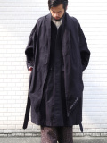 "【19AW】 tac:tac (タクタク)  ""Haoli Military 2way Coat"" <コート> - BLACK"