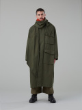"【19AW】 tac:tac (タクタク)  ""Haoli Military 2way Coat"" <コート> - KHAKI"