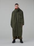 """【19AW】 tac:tac (タクタク)  """"Haoli Military 2way Coat"""" <コート> - KHAKI"""