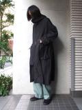 """【20SS】 UJOH (ウジョー)  """"W ZIP Hood Coat"""" <コート>"""