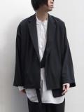 "LAST 1.【20SS】 UJOH (ウジョー)  ""Dolman Sleeve JKT"" <ジャケット> - BLACK"