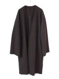 "【18AW】 VOAAOV (ヴォアーブ)  ""long cardigan"" <ニットカーディガン/ガウン> - BROWN"