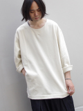 "【18AW】 VOAAOV (ヴォアーブ)  ""L/S SWEAT"" <スウェット> - OFF WHITE"