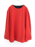 "【18AW】 VOAAOV (ヴォアーブ)  ""L/S SWEAT"" <スウェット> - ORANGE"