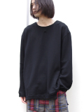 "【18AW】 VOAAOV (ヴォアーブ)  ""L/S SWEAT"" <スウェット> - BLACK"