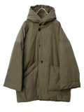 "LAST 1.【19AW】 VOAAOV (ヴォアーブ)  ""long down coat"" <ダウンコート> - OLIVE"
