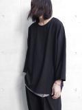 """【19SS】 VOAAOV (ヴォアーブ)  """"back warp T-shirts"""" <Tシャツ/プルオーバーシャツ>"""