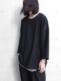 "【19SS】 VOAAOV (ヴォアーブ)  ""back warp T-shirts"" <Tシャツ/プルオーバーシャツ>"