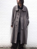 "【20AW】 VOAAOV (ヴォアーブ)  ""tumbler tweed long coat"" <ロングコート>"
