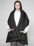 "【20AW】 VOAAOV (ヴォアーブ)  ""MICROFIBER CLOTH DOWN STOLE"" <ダウンストール>"