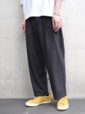 "【20AW】 VOAAOV (ヴォアーブ)  ""washable wool wide pants"" <パンツ> - CHARCOAL"