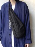 "【20SS】 VOAAOV (ヴォアーブ)  ""nylon knapsack"" <バッグ> - BLACK"