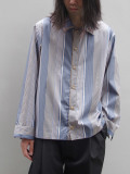 "【19AW】 VOAAOV (ヴォアーブ)  ""stripe box shirt blouson"" <シャツ/ブルゾン>"