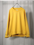 """【20AW】 VOAAOV (ヴォアーブ)  """"PILE SHAPE KNITTED SWEAT""""  <スウェット> - YELLOW"""