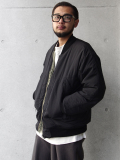 "【SALE】 wizzard (ウィザード)  ""HAPPY BLOUSON TYPE 2"" <ダウンジャケット> - 全2色"