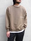 "【2019AW】 wizzard (ウィザード)  ""EMBROIDERY SHORT SWEAT"" <スウェット> - KHAKI"