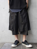 "wizzard (ウィザード)  ""LAYERED PANTS 19SS"" <レイヤードパンツ> - BLACK"