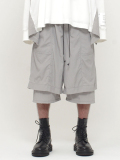 "wizzard (ウィザード)  ""LAYERED PANTS 19SS"" <レイヤードパンツ> - GRAY"
