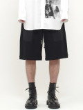 "wizzard (ウィザード)  ""SWEAT SHORT PANTS 19SS"" <ショートパンツ> - BLACK"