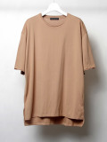 "【2020SS】 wizzard (ウィザード)  ""BASIC PLAIN T-SHIRT"" <カットソー> - BEIGE"