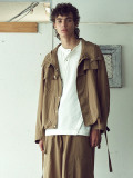"""【SALE:2020SS】 wizzard (ウィザード)  """"SALVAGE PARKA BLOUSON"""" <ブルゾン> - ORCHER"""