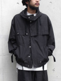 "【2020SS】 wizzard (ウィザード)  ""SALVAGE PARKA BLOUSON"" <ブルゾン> - BLACK"