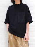 "wizzard (ウィザード)  ""POCKET T-SHIRT"" <カットソー> - BLACK"