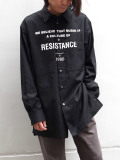 """【SALE:2020SS】 wizzard (ウィザード)  """"RESISTANCE SHIRT"""" <シャツ>"""