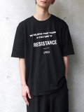 "【2020SS】 wizzard (ウィザード)  ""GRAPHIC T-SHIRT ""RESISTANCE"" <カットソー>"