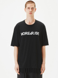 "【17AW】 wizzard (ウィザード)  ""PRINT C&S ""NOISE REPRISE"" <プリントTシャツ カットソー> BLACK"