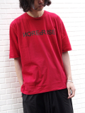 "wizzard (ウィザード)  ""PRINT C&S ""NOISE REPRISE"" <プリントTシャツ カットソー> RED"