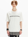 """【17SUMMER】 wizzard (ウィザード)  """"PRINT CUTSEW """"ELECTRONICA"""" <プリントTシャツ カットソー> WHITE"""