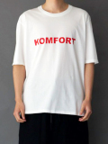"【18AW予約商品】 wizzard (ウィザード)  ""PRINT CUTSEW 'KOMFORT'"" <プリントT/カットソー> - WHITE"