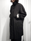 "【18SS】 wizzard (ウィザード)  ""DOLMAN OVERCOAT"" <コート> - BLACK"