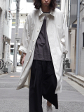 "【SALE】 wizzard (ウィザード)  ""DOLMAN OVERCOAT"" <コート> - LT. GRAY"