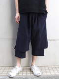 "【18SS】 wizzard (ウィザード)  ""LAYERED PANTS 18SS"" <レイヤードパンツ> - NAVY"