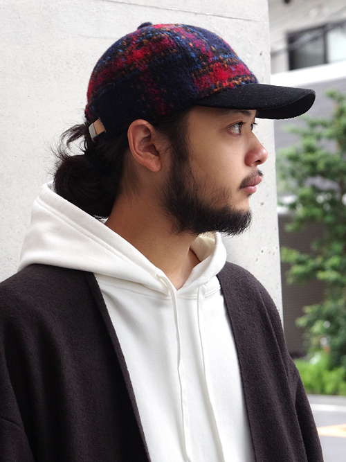 "【18AW】 SOE (ソーイ)  ""Shaggy Check Cap"" <キャップ/帽子>"