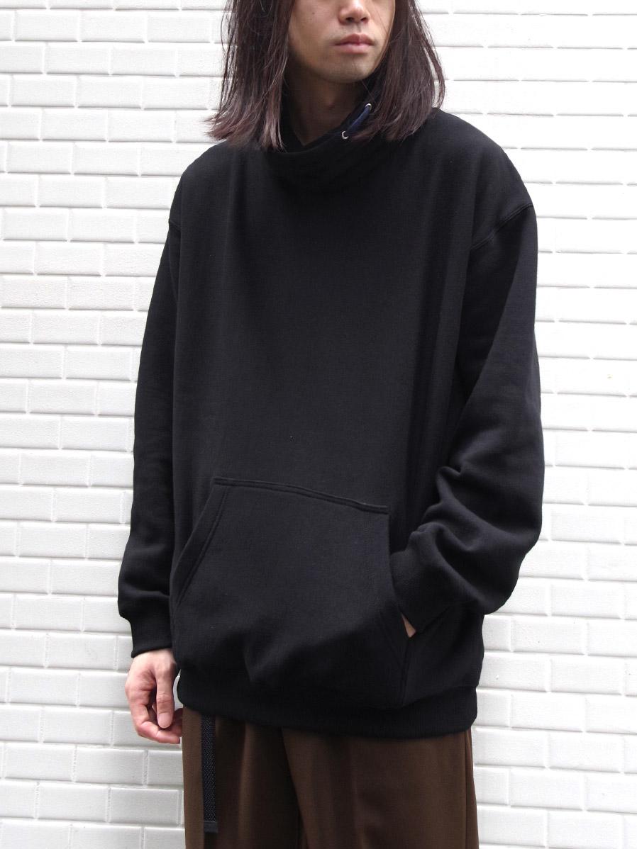 "【19AW】 soe (ソーイ)  ""Bottleneck Sweat Shirt"" <スウェット>"