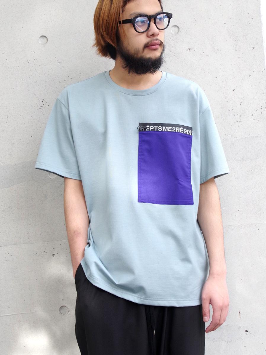 "【19SS】 soe (ソーイ)  ""Lettered Zip Tee"" <Tシャツ/カットソー>"