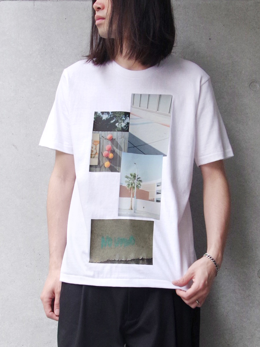 "【SALE】 soe (ソーイ)  ""H/S Crew Neck-T Photography by KENTO MORI"" <Tシャツ/カットソー>"