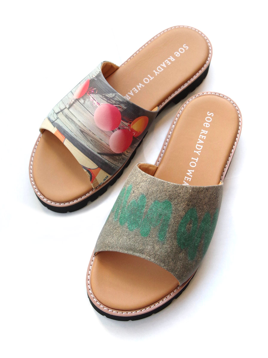 "【19SS】 soe (ソーイ)  ""Flat Sandal by KENTO MORI"" <サンダル>"