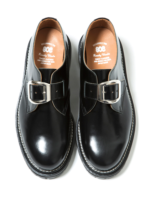 "【19SS】 SOE (ソーイ)  ""One Buckle Plain Toe Shoes"" <シューズ>"