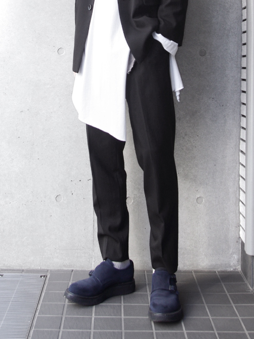 "【19SS】 soe (ソーイ)  ""Student Trousers Narrow Fit"" <サマースラックス>"