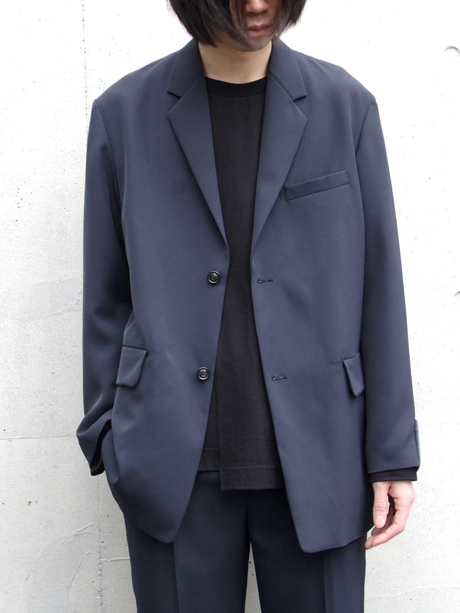 "【20SS】 soe (ソーイ)  ""Sport Jacket"" <ジャケット> - GRAY(ブルーグレー系)"