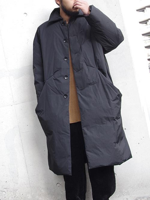 """【18AW】 VOAAOV (ヴォアーブ)  """"long down coat"""" <ダウンコート>"""